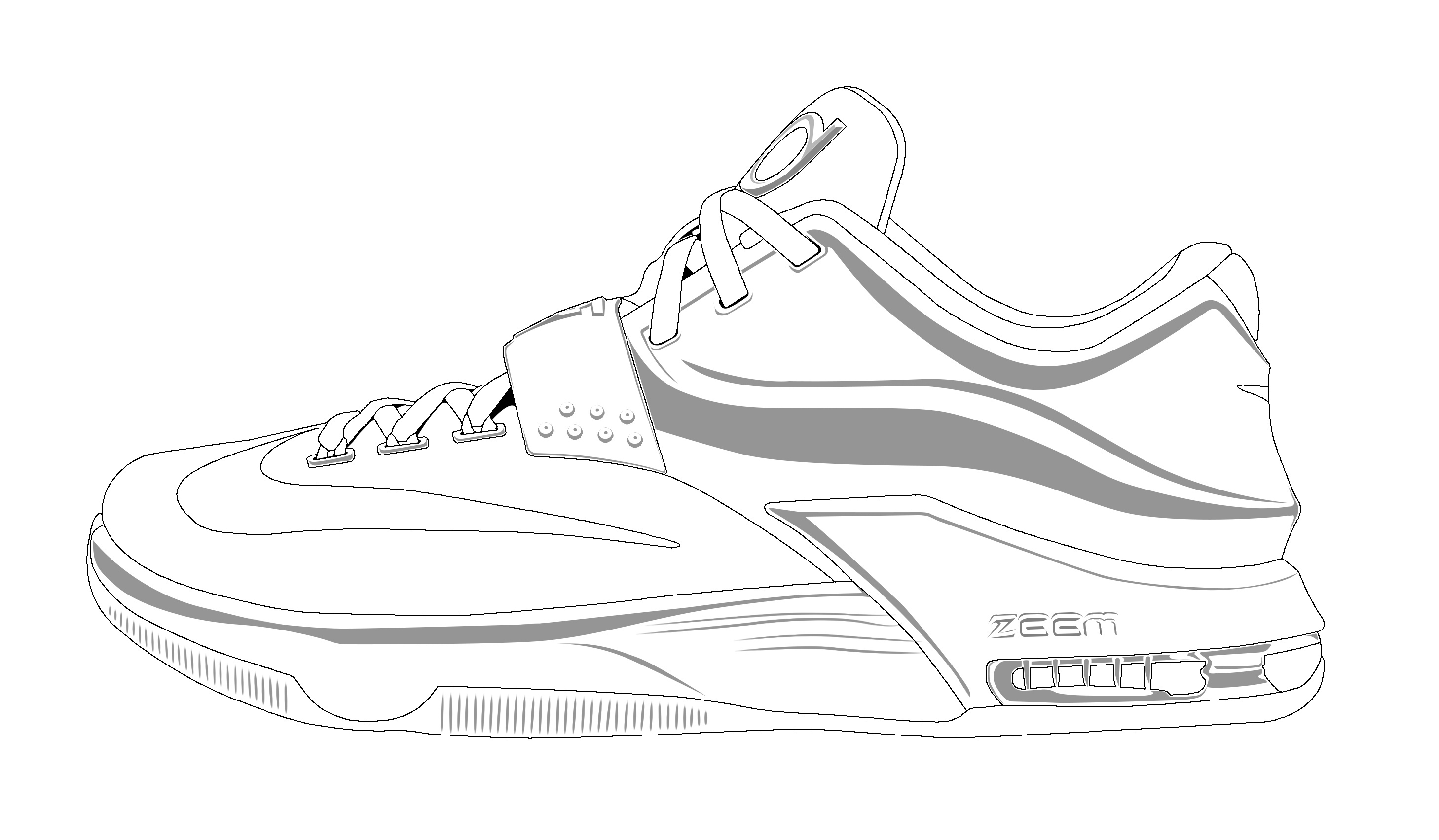 Adult Best Shoe Color Page Images best shoe color page coloring pages now basketball and print for free images