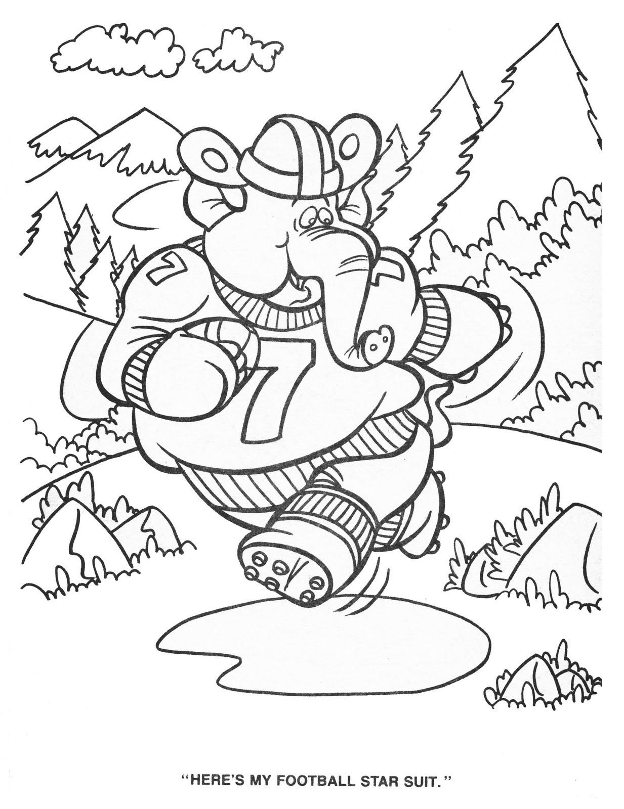 hanna barbera coloring pages - photo#7