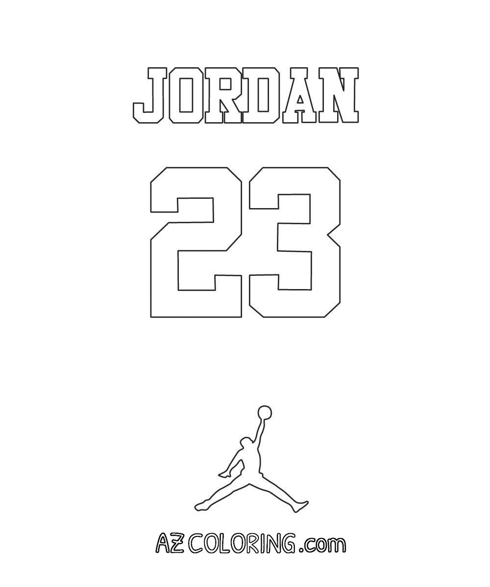 michael jordan coloring page coloring home