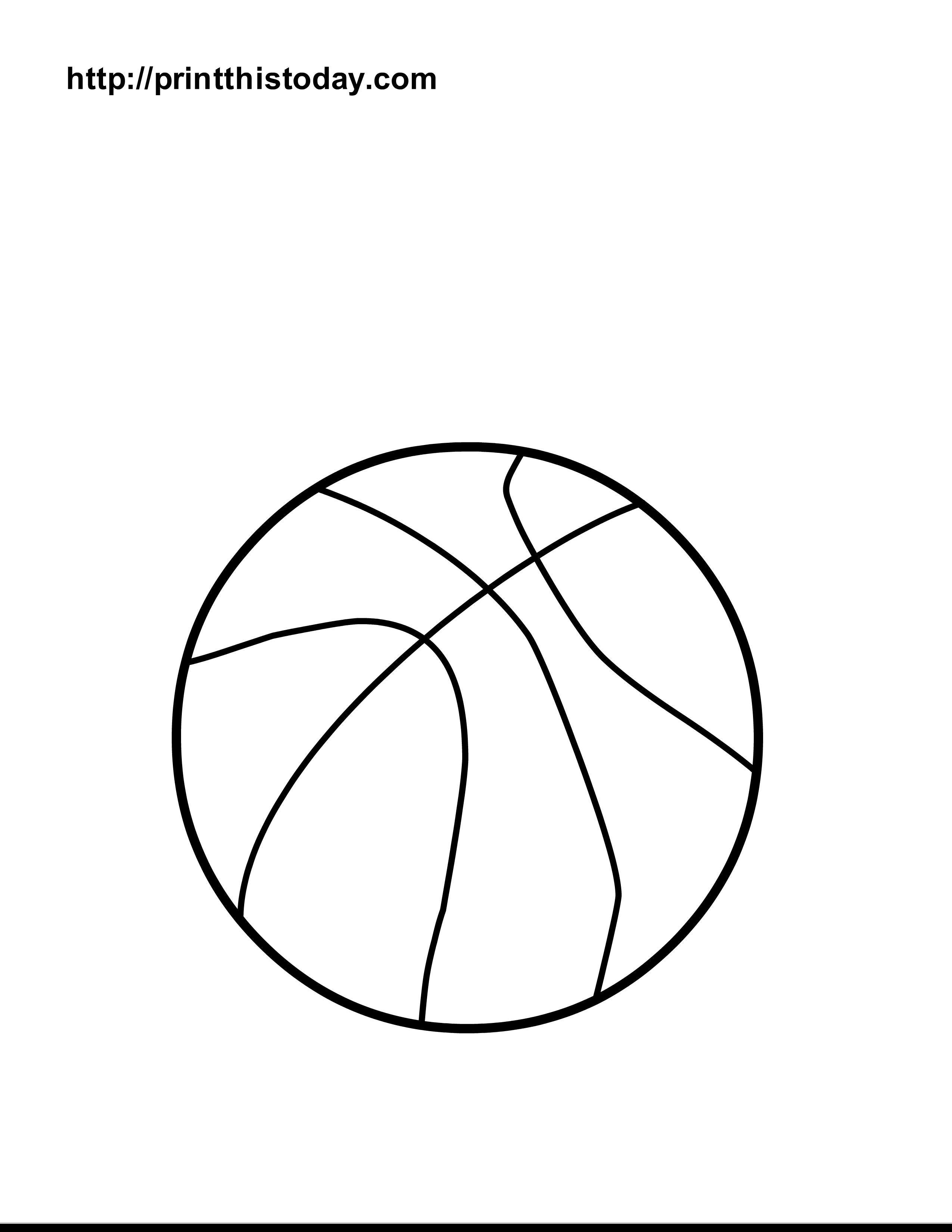 ball coloring balls printable pages sports basketball tennis printables sheet basket clipart worksheet worksheets print templates sheets beach preschool dragon