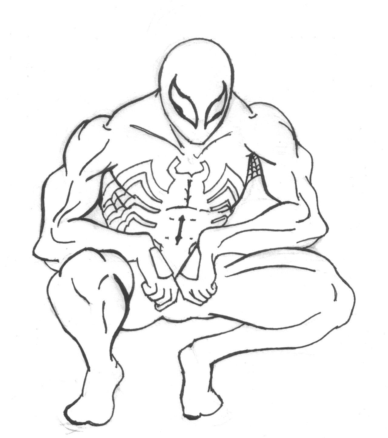 marvel the spectacular spider man coloring pages coloring home