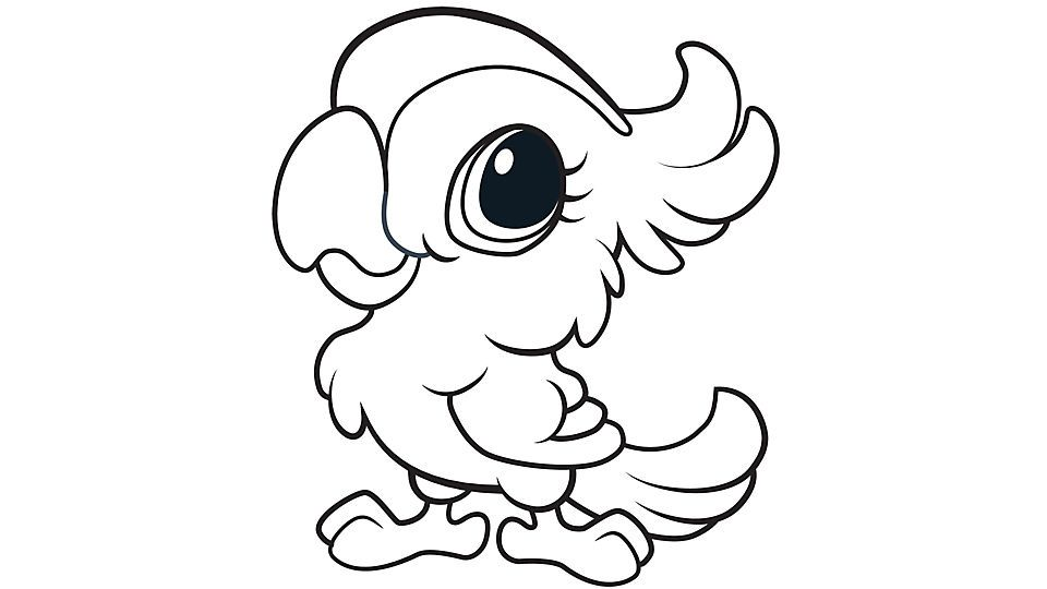 Cute Baby Animal Coloring Pages Printable - Coloring Home