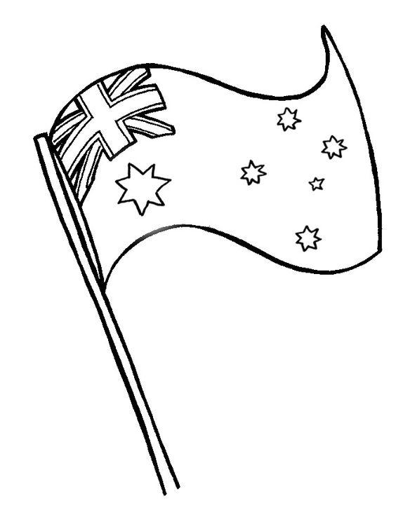 Australia Flag Coloring Page Az Coloring Pages Australia Flag Coloring Page