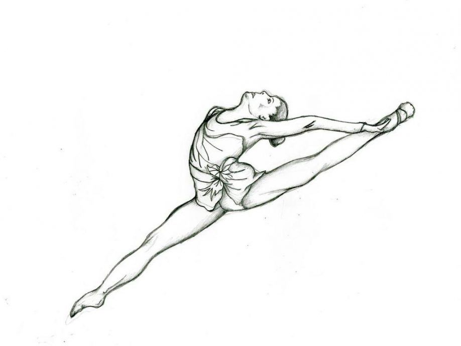 rhythmic gymnastics coloring pages - kids coloring pages gymnastics coloring home