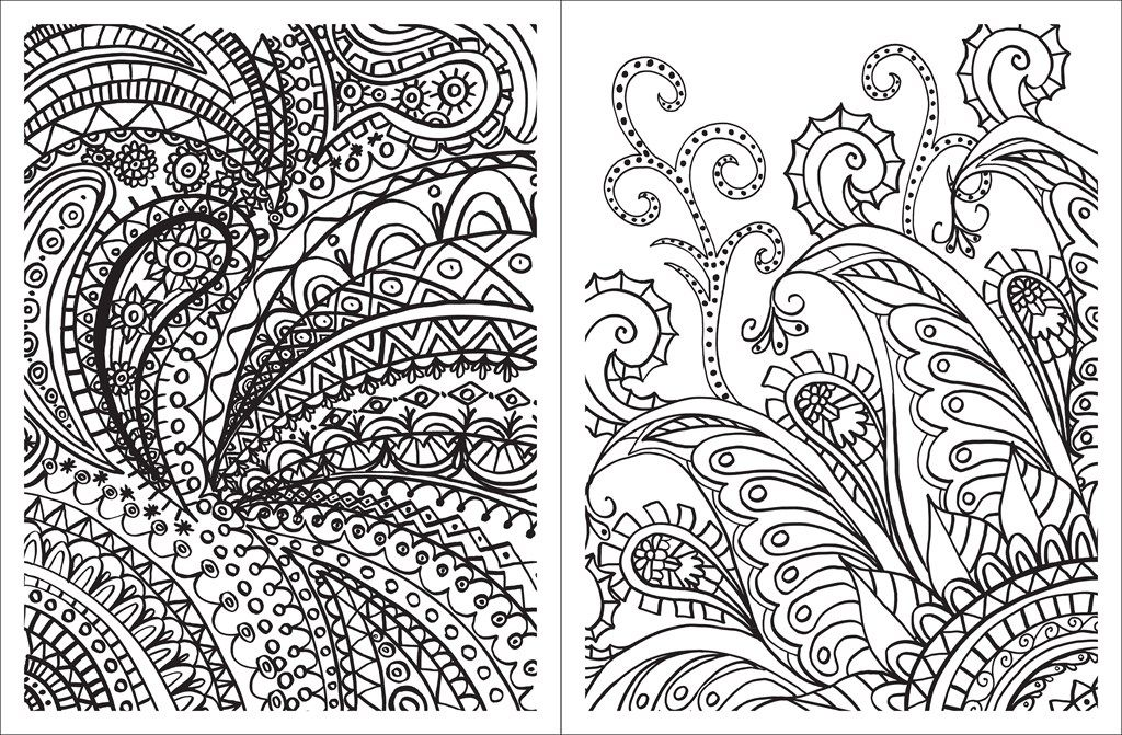Paisley pattern coloring pages coloring home for Paisley designs coloring pages