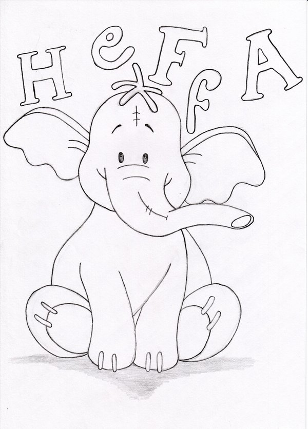 heffalump coloring pages - photo#23