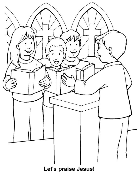 True Worship Coloring Page | Bible coloring pages, Childrens bible  activities, Pastors appreciation