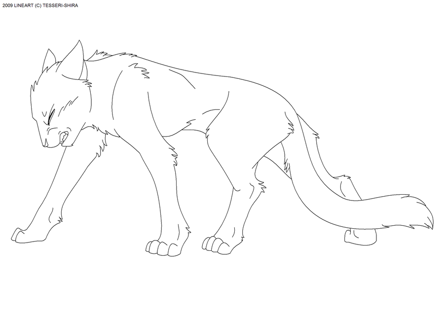 Warriors Cat Coloring Pages Home