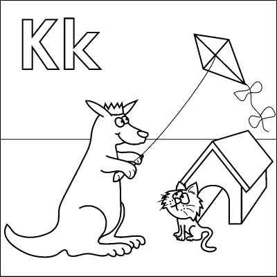 Free Alphabet Coloring Pages | Big ...