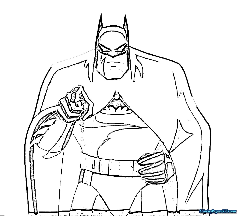 Batman Vs Superman Coloring Pages Free Printable Coloring Coloring Home