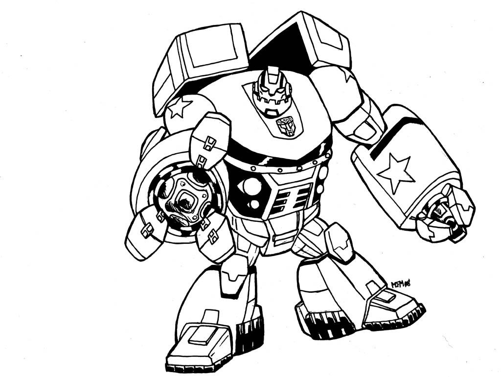 new transformers coloring pages - photo #30