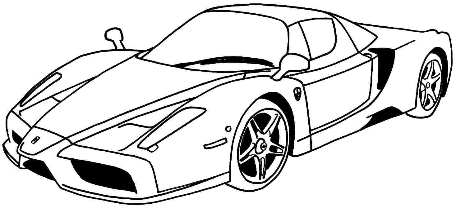Free Race Car Coloring Pages Printables