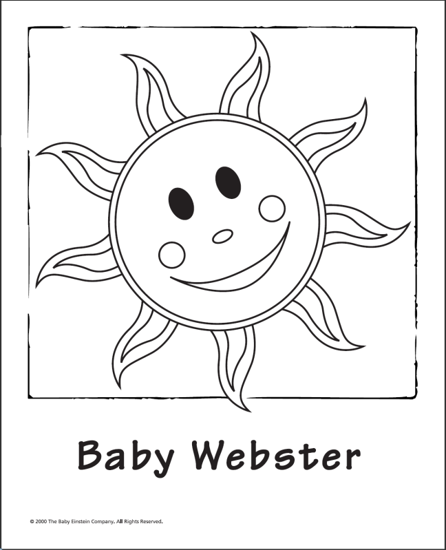baby bach coloring pages - photo #2