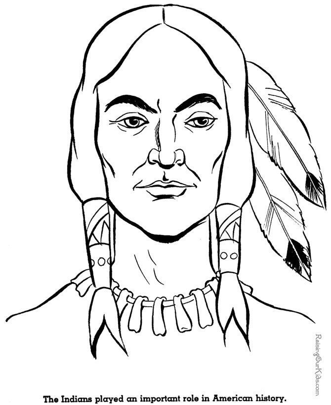 All Indian Coloring Pages - Coloring Pages For All Ages
