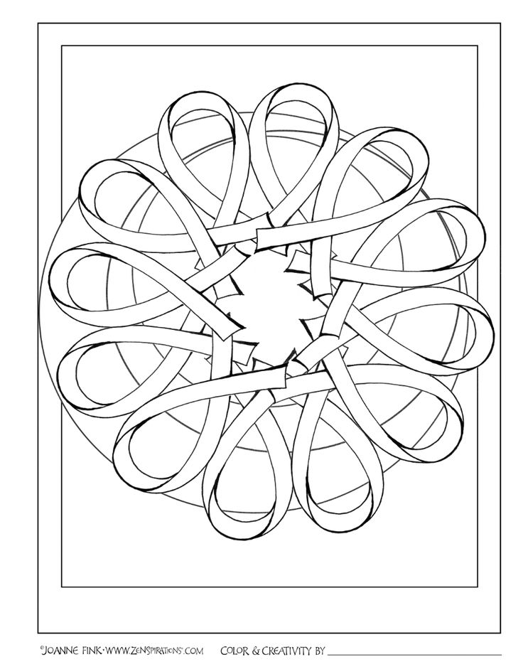cancer ribbons coloring pages - photo#46