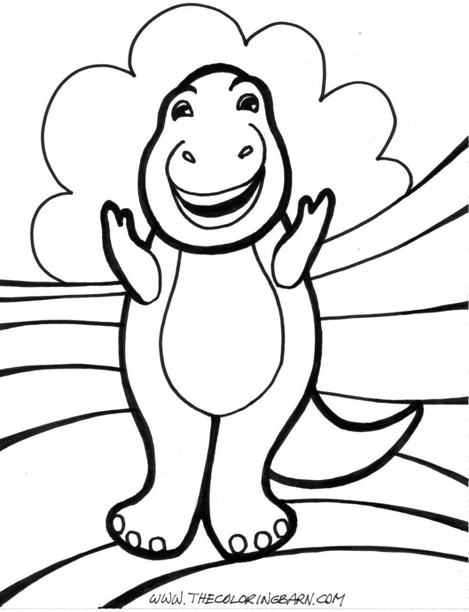 Animal ~ Printable Cute T Rex Coloring Pages ~ Coloring Tone
