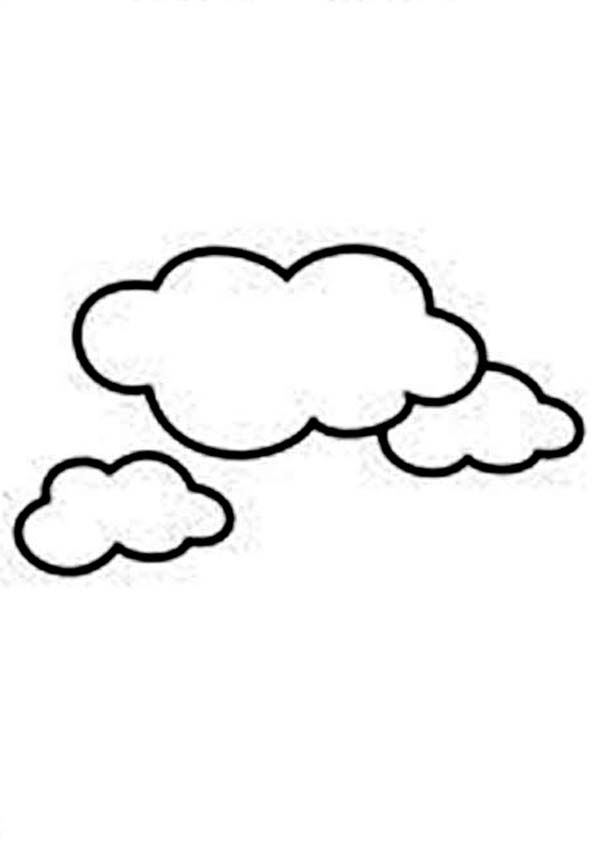 coloring pages cloud coloring home