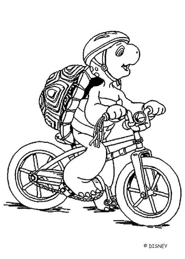 7 Pics of Bike Safety Riding Coloring Pages - Girl Riding Bike ...