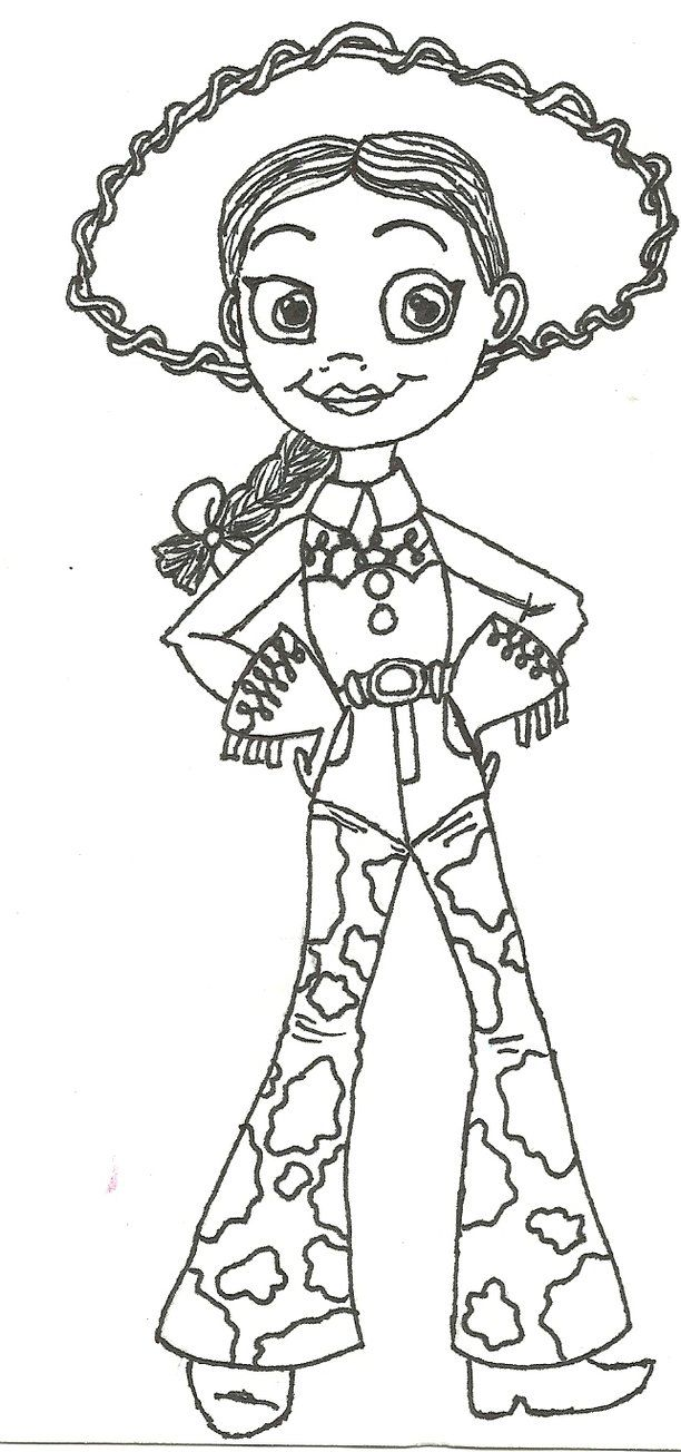 jessie coloring pages printable - photo#24