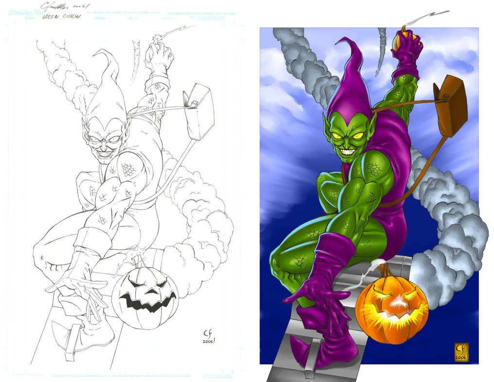 Green Goblin Coloring Pages (13 Pictures) - Colorine.net   25864 ...