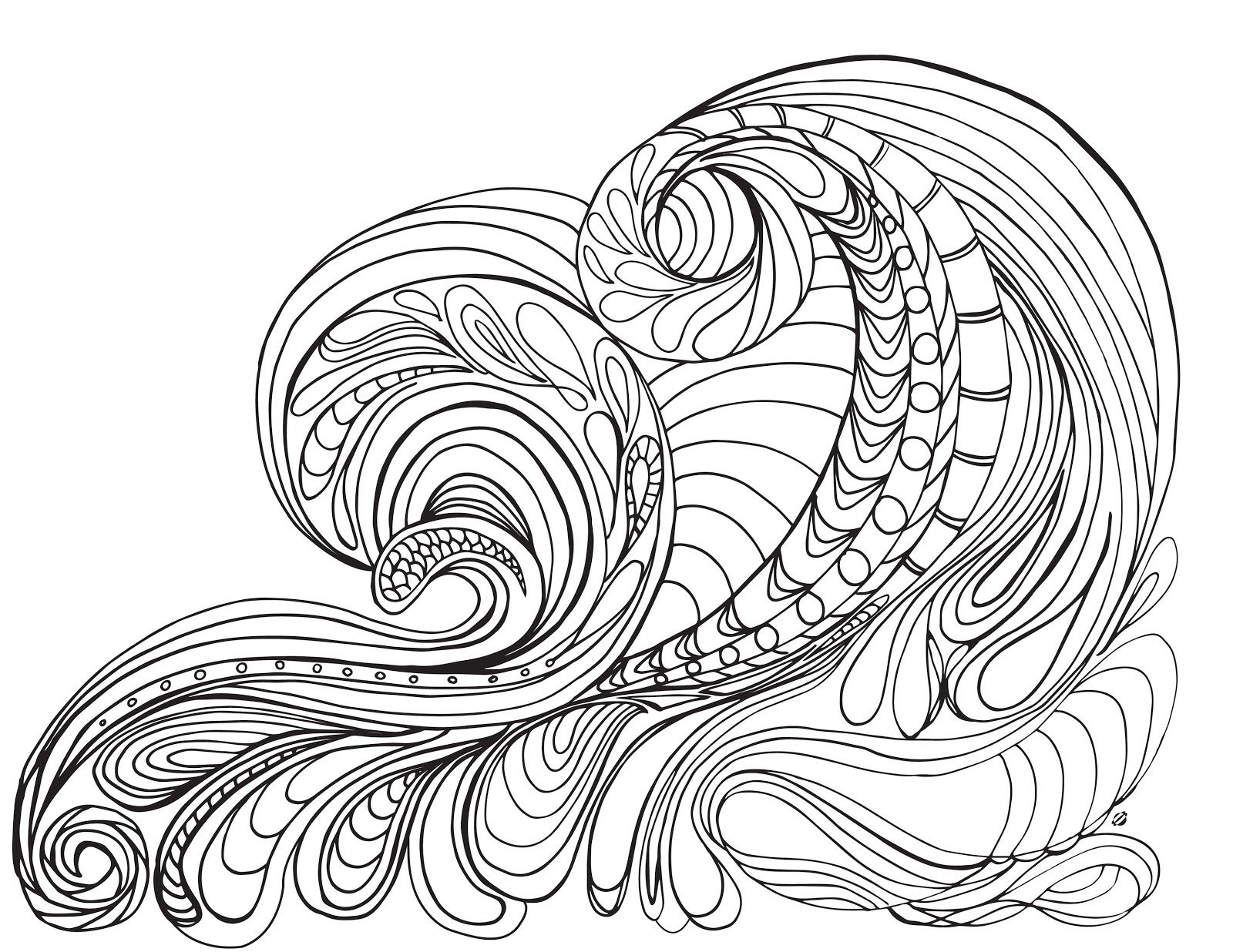 the color of water pages - ocean waves coloring pages az coloring pages