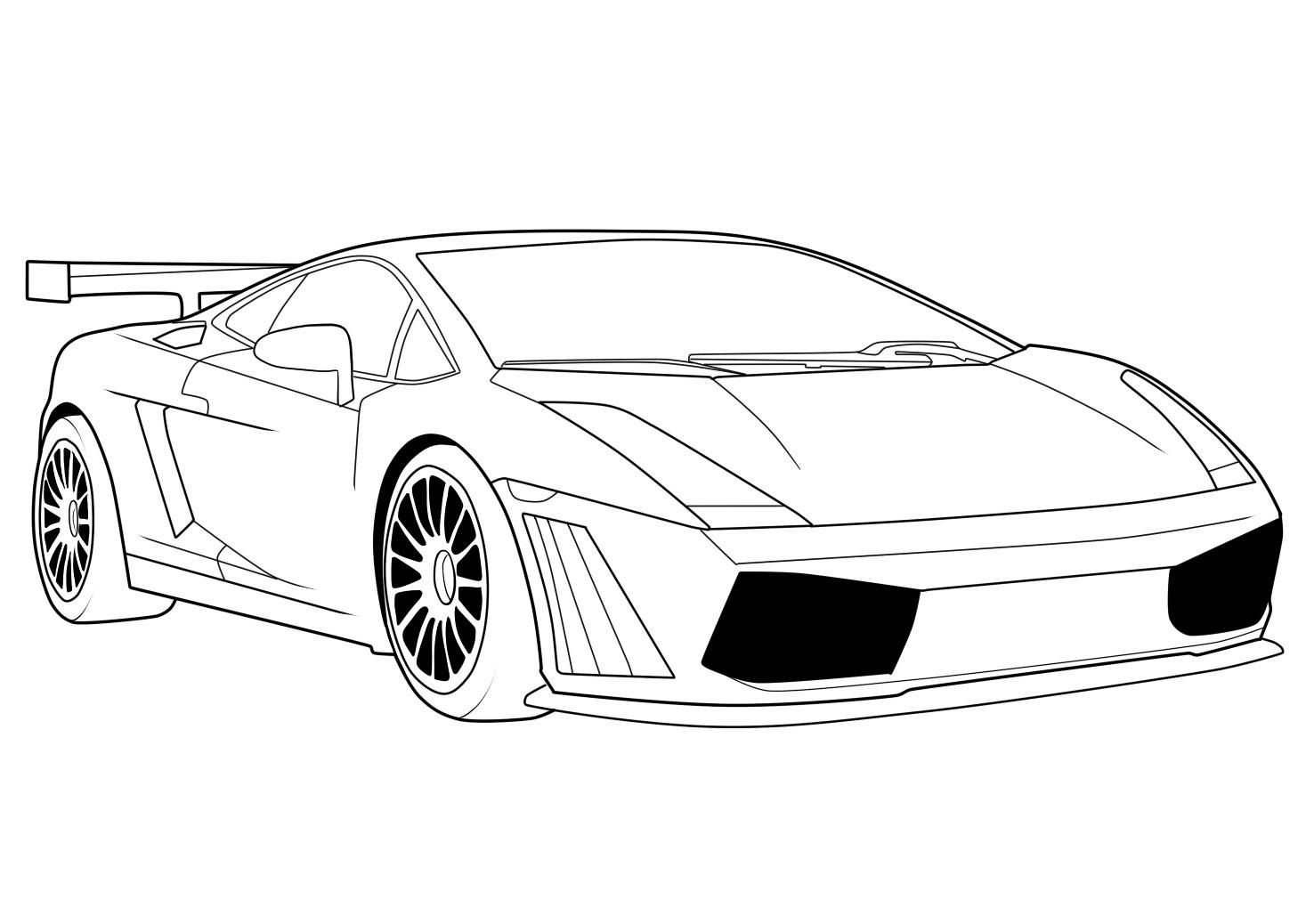 Lamborghini coloring pages to print coloring home for Lamborghini coloring pages to print