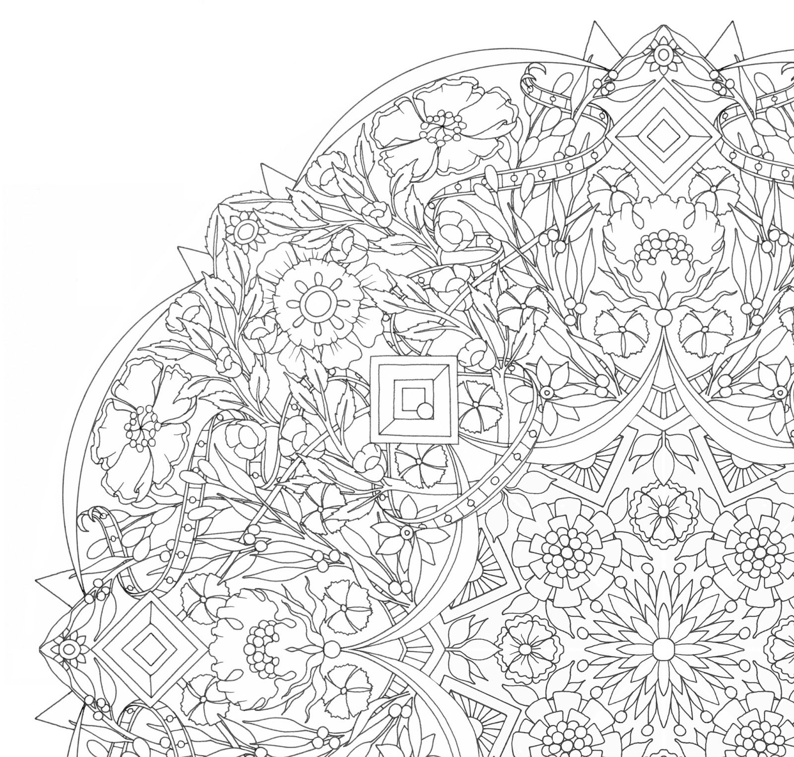 Very Detailed Coloring Pages Home