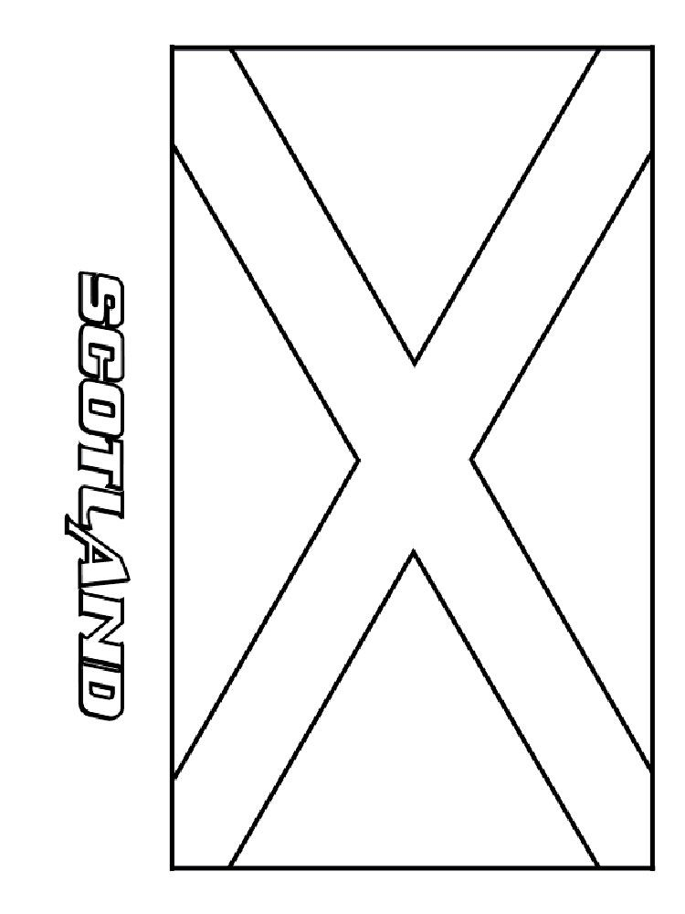 Country Flags Coloring Pages
