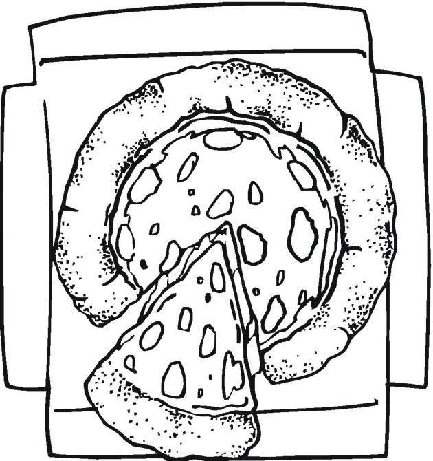 Pizza Coloring Pages for Kids | Color Page