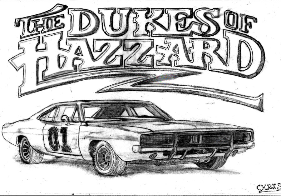 Dukes Of Hazzard Coloring Pages - Coloring Home