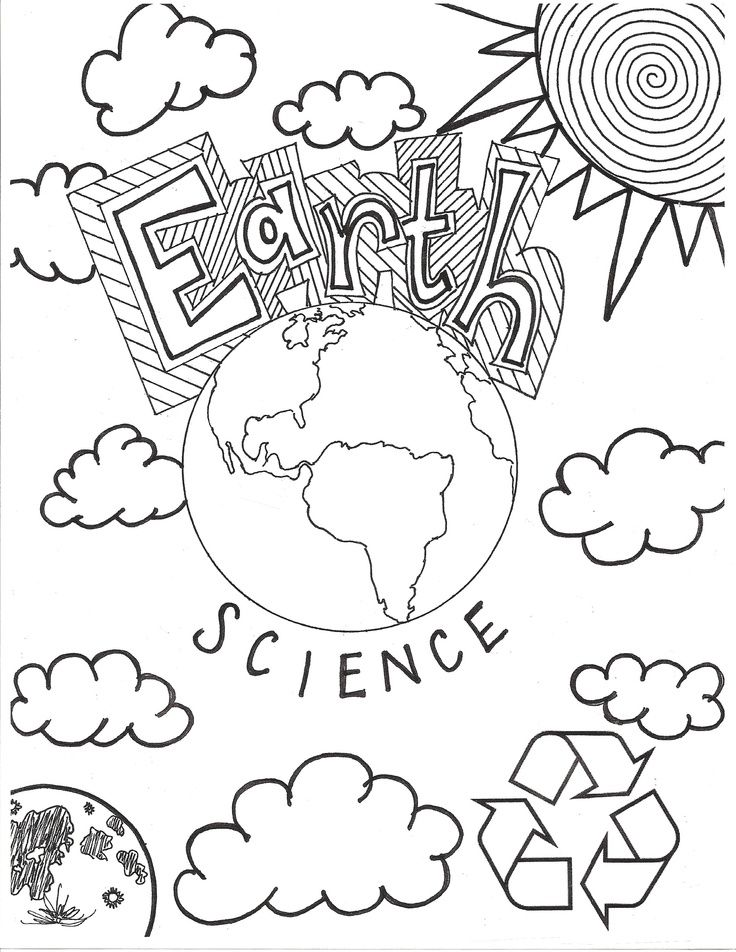 Science Lab Coloring Pages Coloring