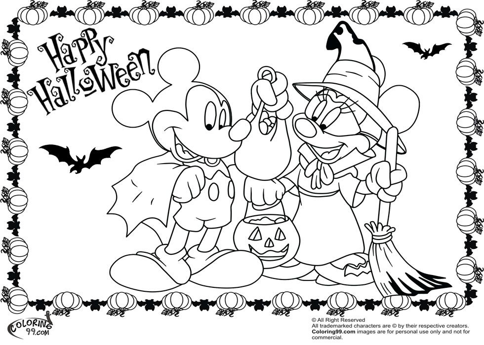 Halloween Princess Coloring Pages - Coloring Home