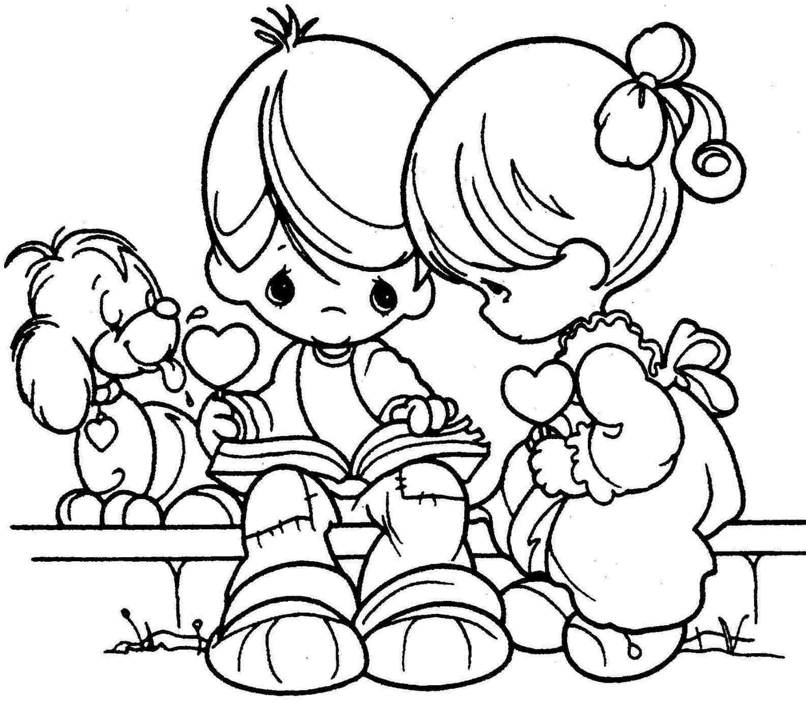 Paw patrol coloring pages valentines - Printable Valentine Coloring Pages Coloring Me