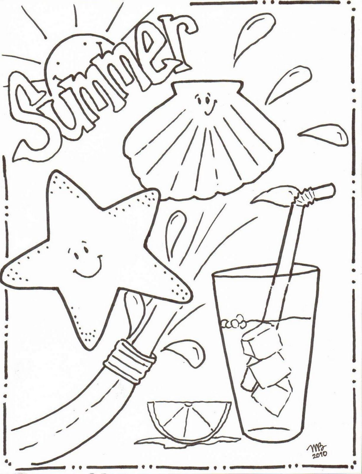 Fr free coloring pages for june - June Coloring Pages To Download And Print For Free