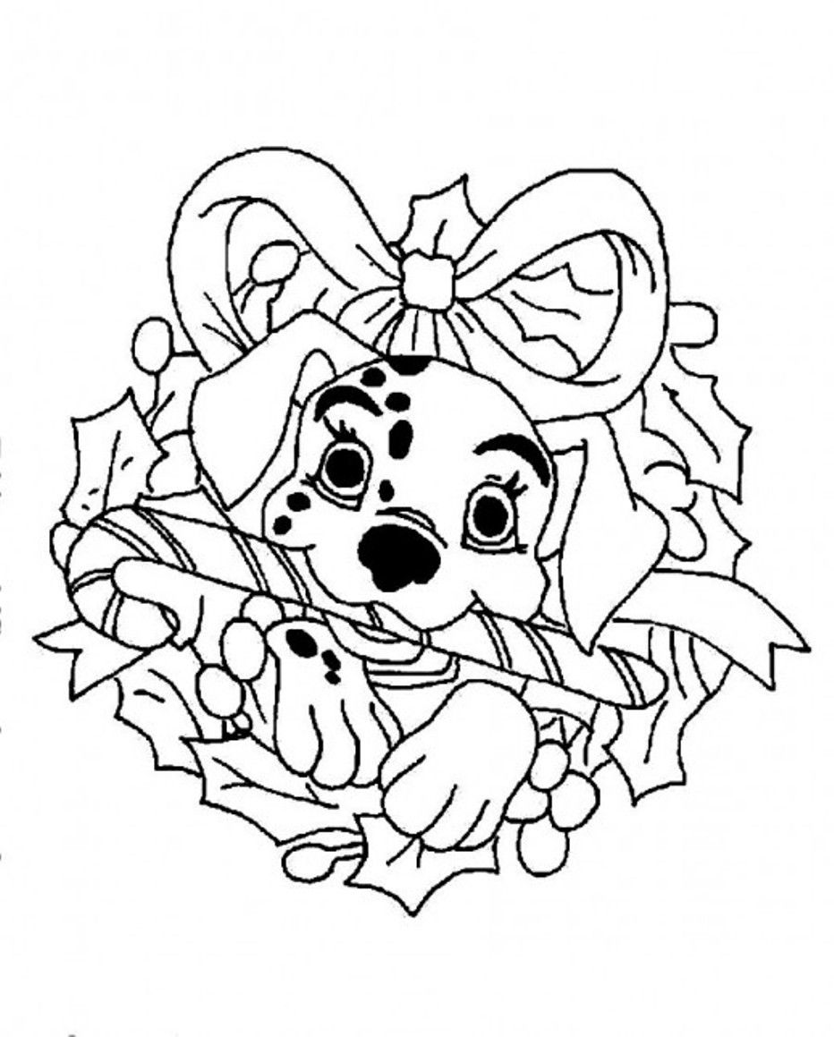 Free Coloring Pages Disney Christmas