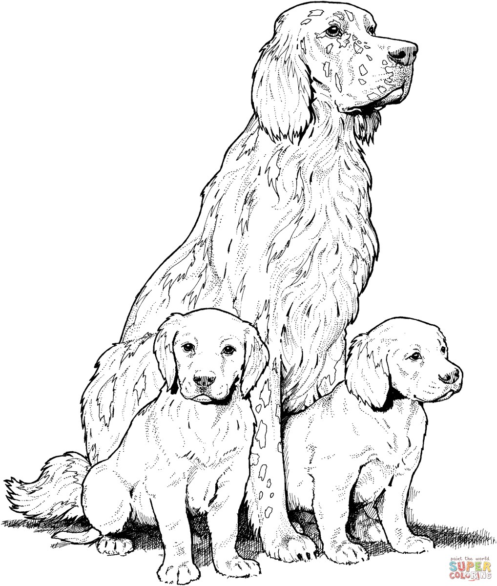 Dog Coloring Page Dogs Coloring Pages Free Coloring Pages - birijus.com