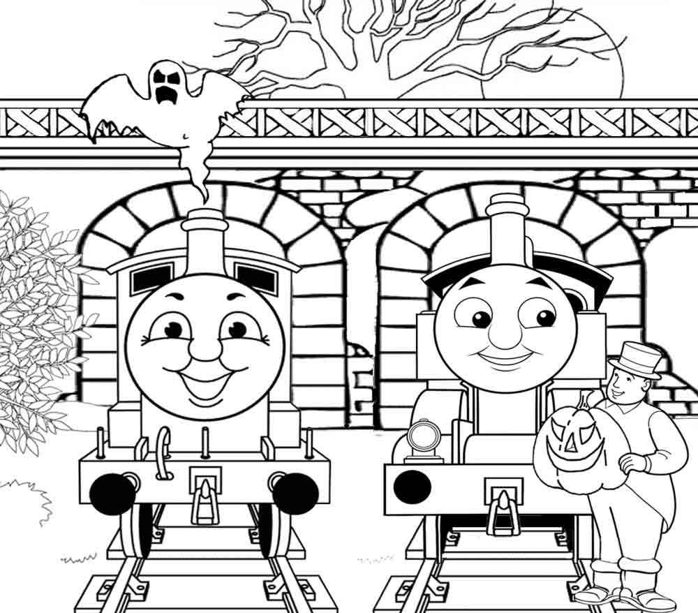 thomas train coloring pages - photo#18
