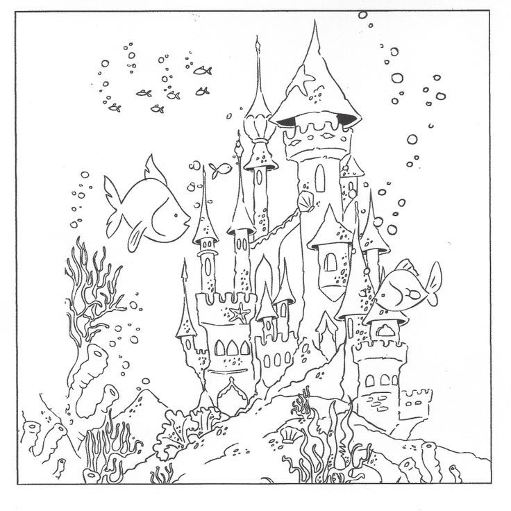 Underwater Coloring Pages Coloring