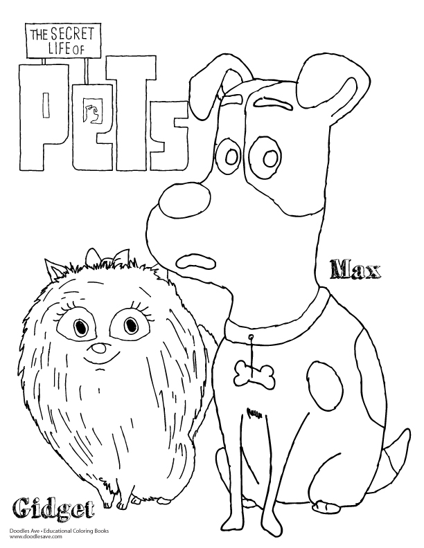 Put Me In The Zoo Coloring Page - Auromas.com