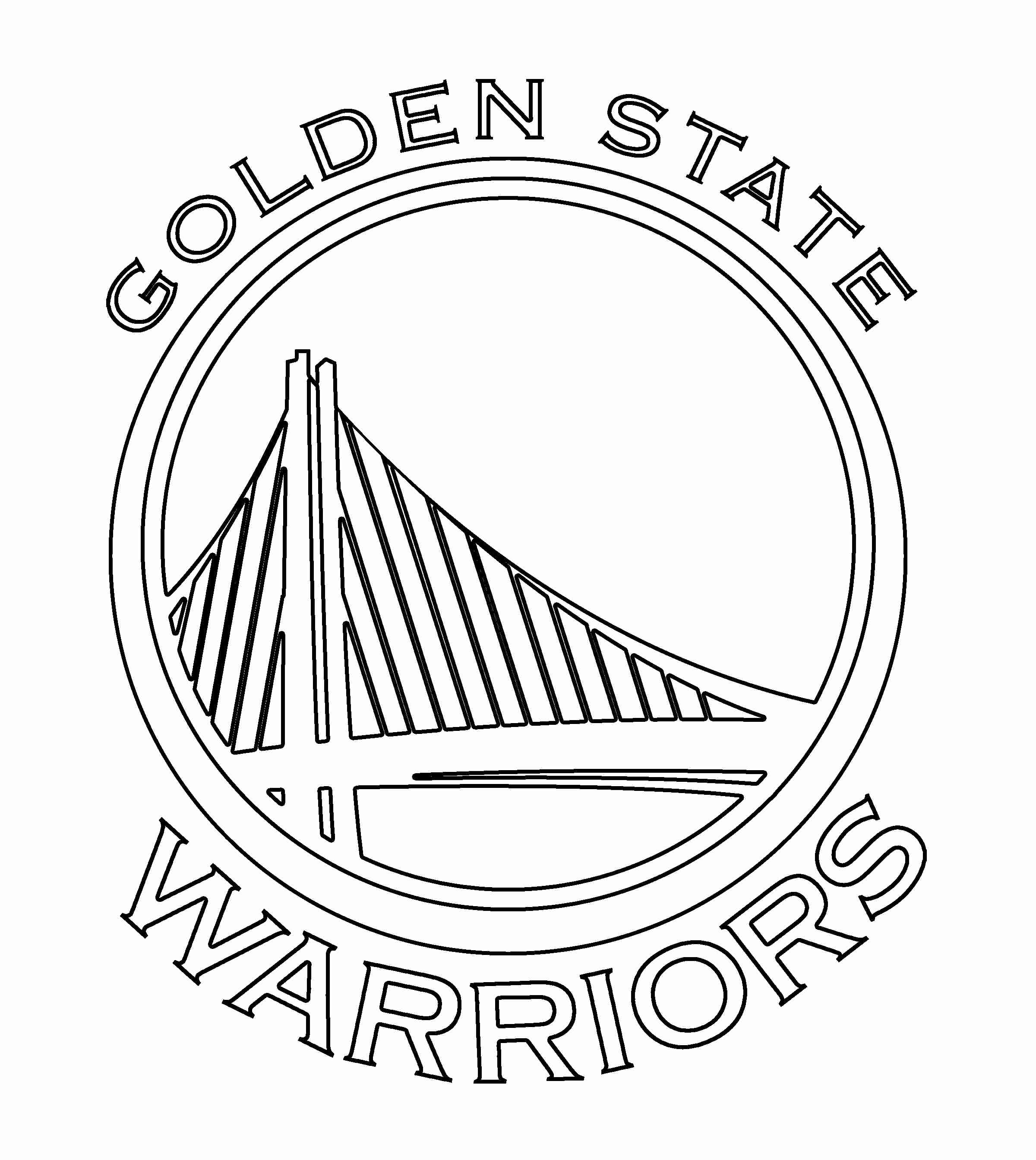 Golden State Warriors Coloring Pages Coloring Home