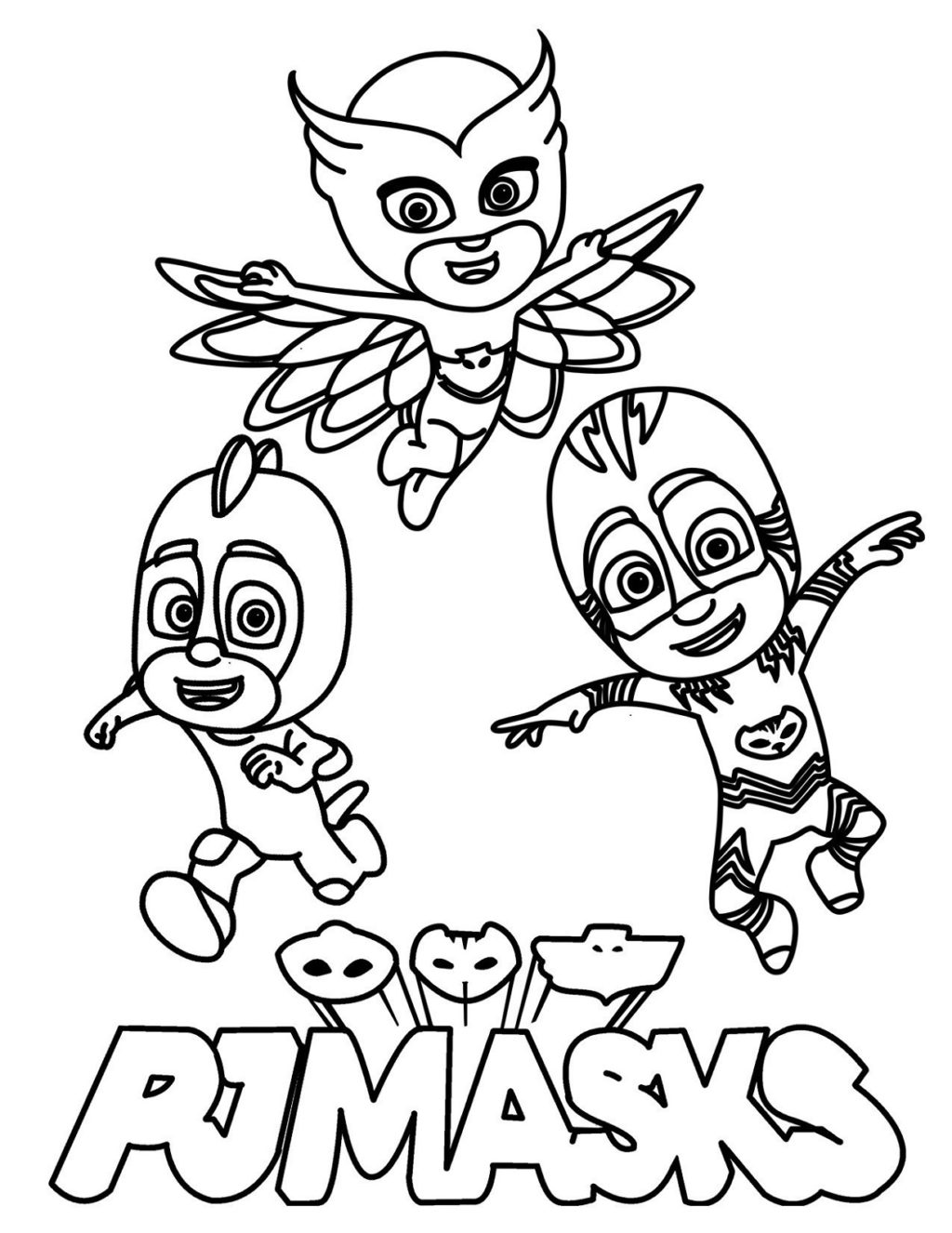 - Catboy Coloring Pages - Coloring Home