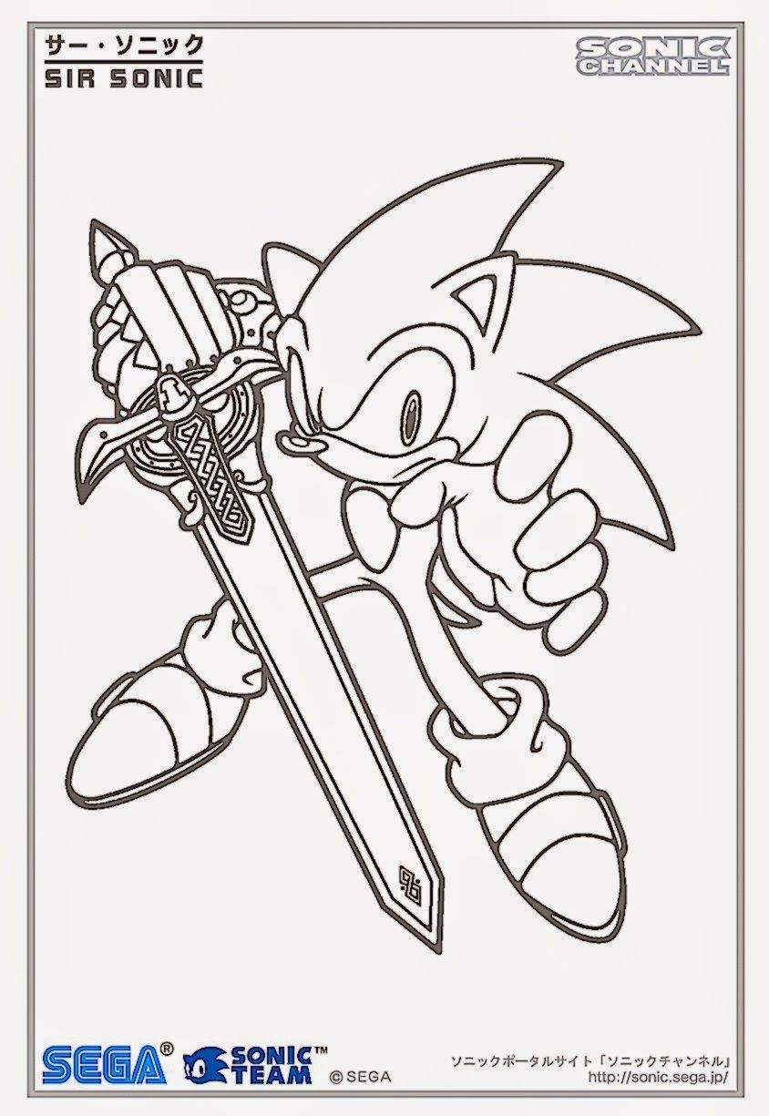 Super Sonic Online Coloring Pages Coloring Home