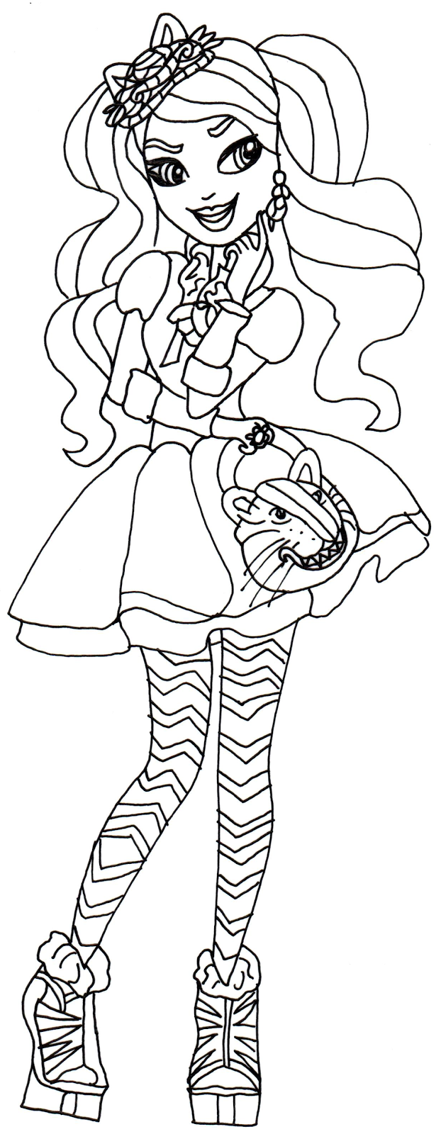 Coloring Pages Ever After High : Ever after high coloring pages home