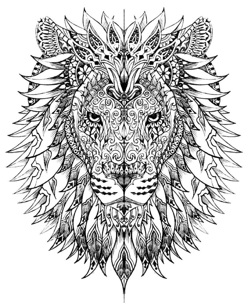 Abstract Animal Coloring Pages Coloring Home
