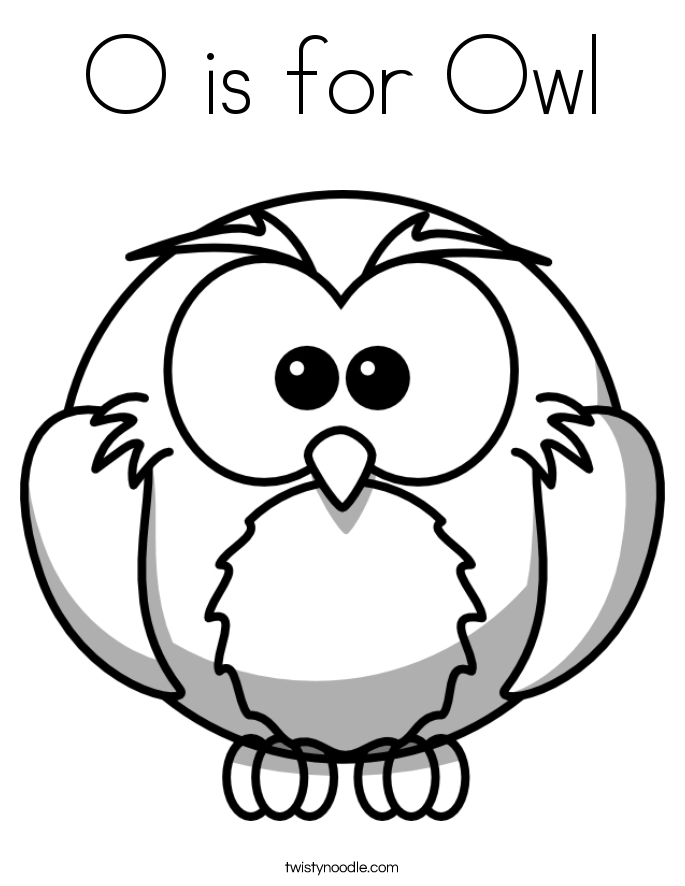 Owl Coloring Pages Preschool Coloring Home