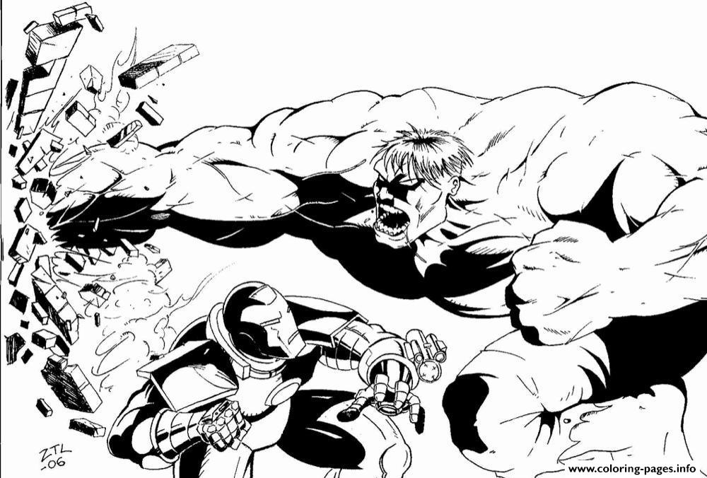 Captain America Fighting Bad Guy Coloring Pages - Coloring ...
