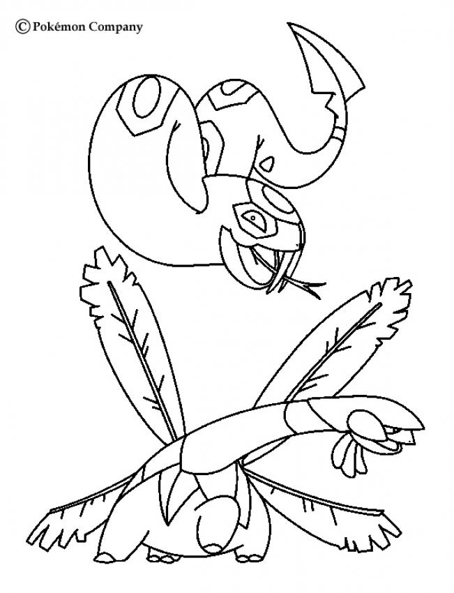 Pokemon Battles Coloring Pages