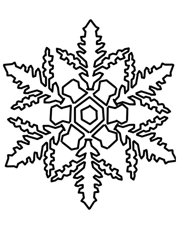 Christmas coloring pages snowflakes home