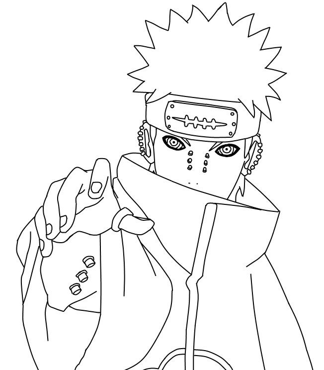 Naruto Tobi Coloring Pages (Page 4) - Line.17QQ.com