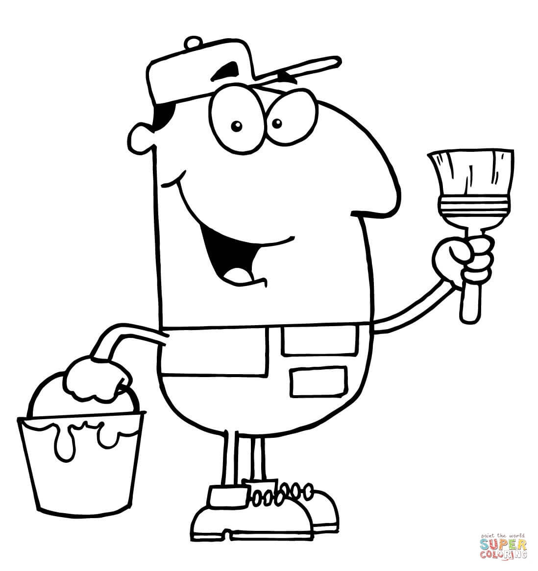 professions coloring pages coloring home